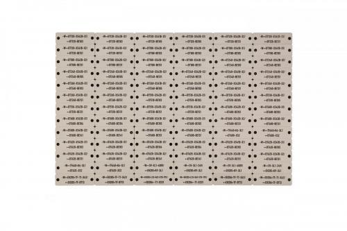 D833-59 2 gravierte Platten A4